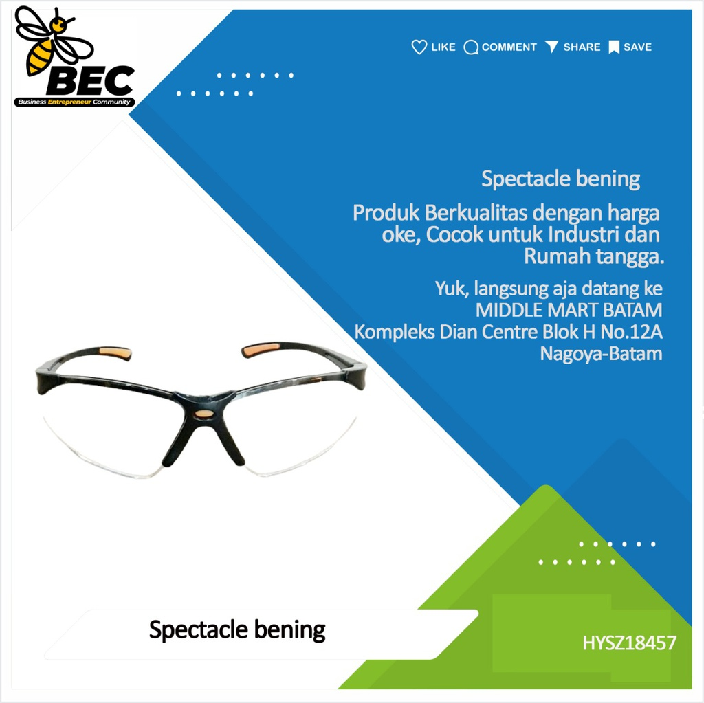 Spectacle (Hitam)
