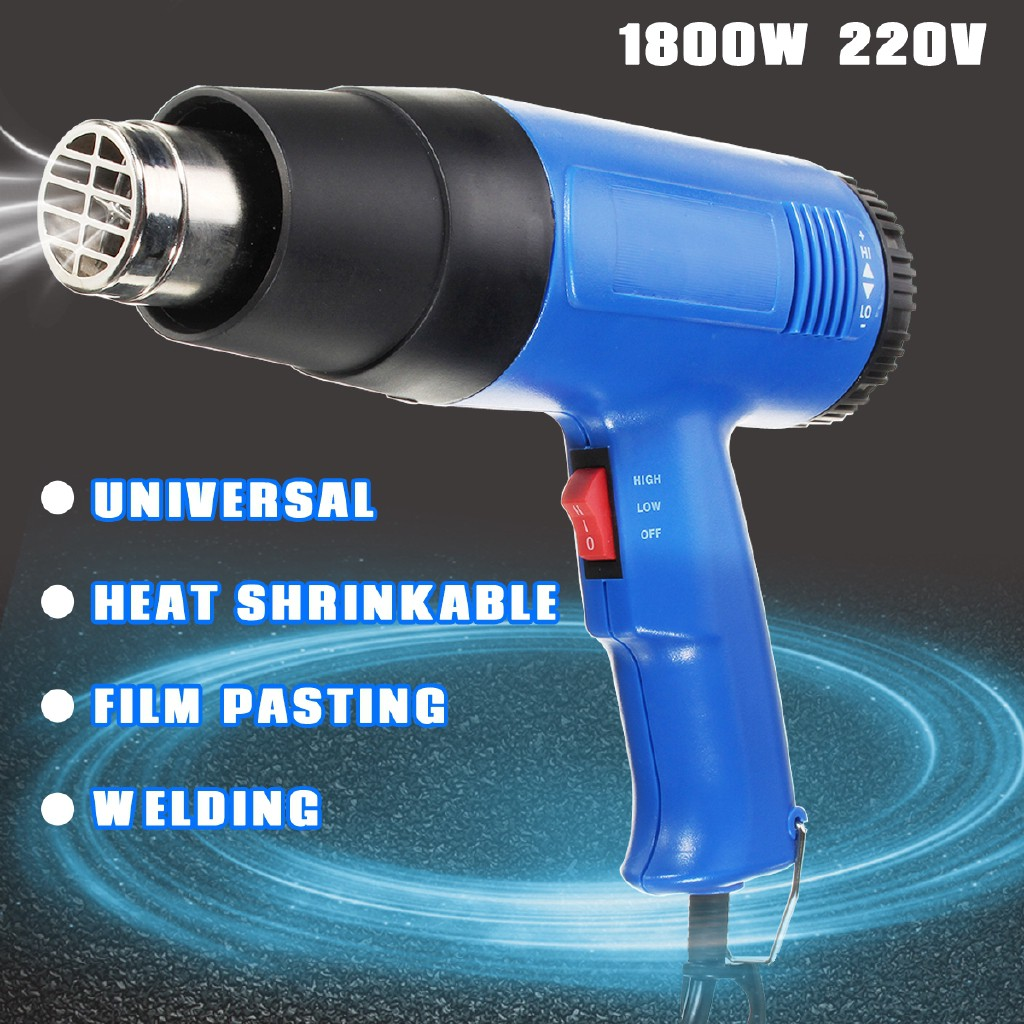 Hot air gun type constant temperature heat gun working temperature 60-650 air flow 450 Power Type AC Power Supply Rated Voltage AC220V-240V