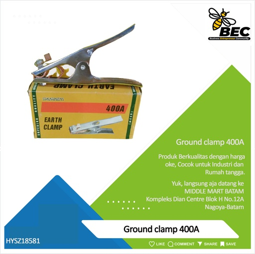 [HYSZ18581] Ground clamp 400A