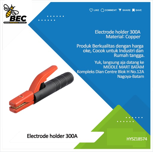[HYSZ18574] electrode holder 300A material:Copper